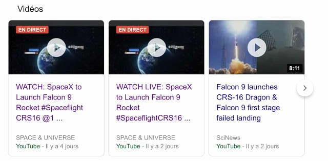 google livestream